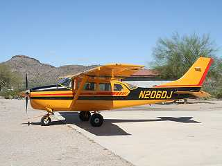 1963 Cessna 206 Skywagon